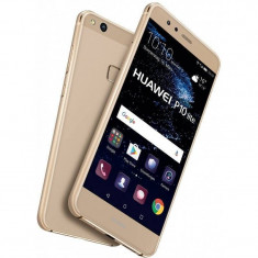 Smartphone Huawei P10 Lite 32GB Dual Sim 4G Gold - Telefon Huawei, Neblocat, Android OS