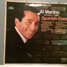AL MARTINO - SPANISH EYES (1959/CAPITOL REC/USA) - disc VINIL/VINYL - Muzica Pop capitol records