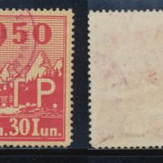 ROMANIA 1950 timbru special de cotizatie Asociatia Turismului Popular uzat - Timbre Romania, Stampilat