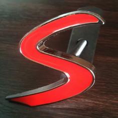 Emblema grila fata metal Mini Cooper S - Embleme auto
