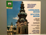 MOZART - CORONATION MASS/MISSA BREVIS (1968/EMI REC/WEST GERMANY) - VINIL, emi records