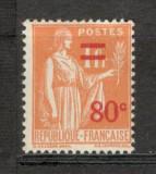 Franta.1937 Pacea-supr.  XF.64, Nestampilat