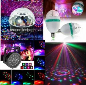Glob  BEC DISCO LED set 3 Lumini CLUB PARTY