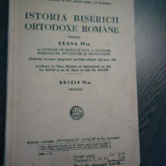 ISTORIA BISERICII ORTODOXE ROMANE - D. Georgescu - Universala, 1938, 202 p. - Carti ortodoxe