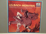 BACH - MOTETTEN - K.THOMAS (1978/DEUTSCHE GRAMMOPHON REC/WEST GERMANY) - VINIL, universal records