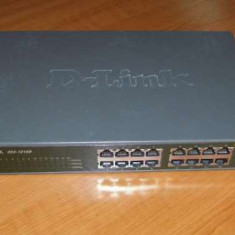 Switch D-Link DES-1016D rackabil 16 porturi 10/100mbps