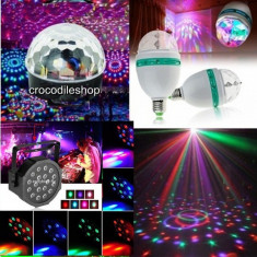 Glob BEC DISCO LED set 3 Lumini CLUB PARTY