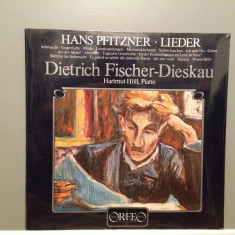 D.FISCHER-DIESKAU - HANS PFITZNER -H.HOLL - piano (1982/ORFEO/W.GERMANY) - VINIL - Muzica Clasica decca classics