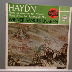 HAYDN - MISSA in HONEREM/MISSA BREVIS (1974/PHILIPS/HOLLAND) - VINIL - Muzica Clasica universal records