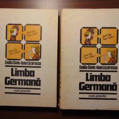 Limba germana. Curs practic, 2 vol - Emilia Savin, Ioan Lazarescu (1985) - Curs Limba Germana