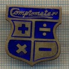 ZET 910 INSIGNA - COMPTOMETER -PRIMUL CALCULATOR MECANIC AMERICAN DE SUCCES