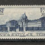 Franta.1938 Congres de Istoria Artei Versailles XF.71, Nestampilat