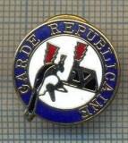 ZET 870 INSIGNA GARDE REPUBLICAINE- GARDA REPUBLICANA -JANDARMERIA DIN PARIS