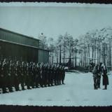 Foto militara germana, ofiteri si soldati Luftwaffe /Depunerea Juramantului/nazi - Fotografie veche