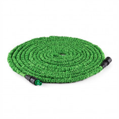 WALDBECK Water WIZARD Extend, furtun de grădină flexibil, 30 m, verde - Filtru si material filtrant acvariu