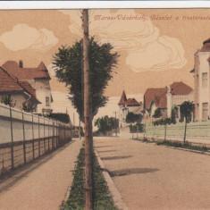TARGU MURES FOSTUL CARTIER AL FUNCTIONARILOR IN 1916 ASTAZI PLATOUL CORNESTI - Carte Postala Transilvania dupa 1918, Necirculata, Printata