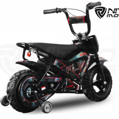 Motocicleta electrica pentru copii 250W 24V Eco Flee cu roti ajutatore - Masinuta electrica copii Altele