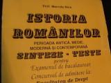 ISTORIA ROMANILOR-PERIOADA ANTICA,MEDIE, MODERNA SI CONTEMPOR-PROF. M. NICA-, Alta editura