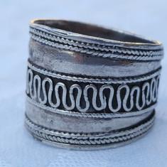 INEL argint ARVI etnic TRIBAL INDIA lat VECHI vintage SPLENDID ornat De EFECT