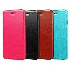 Husa Allview V1 Viper i 4G Flip Case Inchidere Magnetica Albastra, Alt model telefon Allview, Albastru, Piele Ecologica