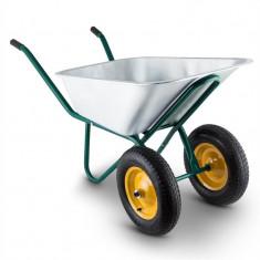 Waldbeck Heavy Load Roaba 120l 320 kg în grădină coș Bauschubkarre oțel 2 roți verde - Filtru si material filtrant acvariu