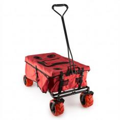 Waldbeck Red Devil geanta pentru pionieri pliabila cu buzunare, frână, 68 kg, roșu - Filtru si material filtrant acvariu