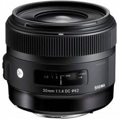 Obiectiv Sigma Canon 30/1.4 (A) DC HSM Art - Obiectiv DSLR