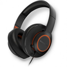 Casti cu microfon SteelSeries Siberia 150, Full size, Negru - Casca PC Steelseries, USB