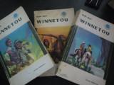 WINNETOU * 3 vololume - Karl May - Editura Tineretului,  1967