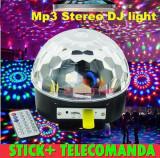 Glob disco laser  cu stick si telecomanda