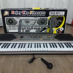 Orga Altele 61 clape MQ-001UF Stereo -USB MP3 Play, FM Radio, Microfon, Record System