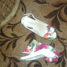 Sandale - Sandale dama Ecco, Culoare: Albastru, Marime: 36