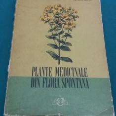 PLANTE MEDICINALE DIN FLORA SPONTANĂ / CORNELIU CONSTANTINESCU/1973 - Carte Medicina alternativa
