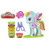 Play-Doh - Salonul lui Raindow Dash - Jocuri arta si creatie