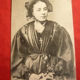 Ilustrata - Folclor- Costum Popular din Savoia, Necirculata, Printata