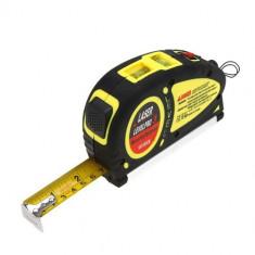 Nivela Profesionala Level Pro 3 cu laser + ruleta de 5.5M - Nivela laser cu linii