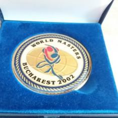 MMD4 - TEMATICA SPORT - JUDO - WORLD MASTERS JUDO - BUCURESTI 2002 - Medalii Romania