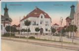 TARGU MURES  STRADA  HUNIAZILOR    CIRCULATA 1917, Printata