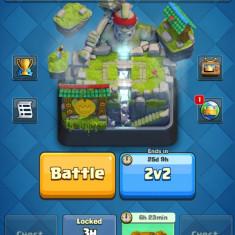 Vand cont de clash royal