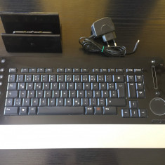 Tastatura Logitech diNovo Edge, Multimedia, Fara fir, Bluetooth