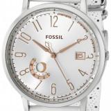 Fossil ES3749 Vintage Muse ceas dama nou 100% original. Garantie, din stoc, Casual, Quartz, Inox, Piele, Rezistent la apa