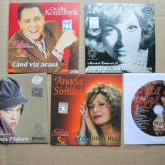 Lot 5 CD, Muzica romaneasca: Madalina Manole, Angela Similea, Corina Chiriac ... - Muzica Folk