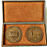 MEDALIE PRIMA EXPOZITIE NUMISMATICA CERCUL CCA CENTENARUL INDEPENDENTEI ROMANIEI - Medalii Romania