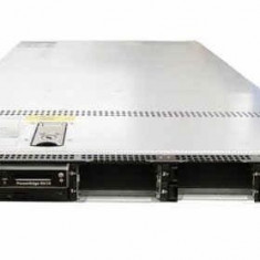 Server DELL PowerEdge R610, Rackabil 1U, Intel Quad Core Xeon E5540 2.53 GHz, 4 GB DDR3 ECC Reg, 2 x caddy 2.5inch, Raid Controller SAS/SATA DELL P