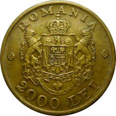 ROMANIA, 2000 LEI 1946 * cod 54.7 - Moneda Romania, Alama