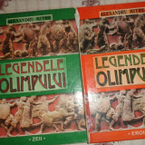 Legendele Olimpului zeii + eroii - Alexandru Mitru - Carte mitologie
