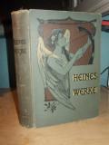 HEINRICH HEINE - SAMTLICHE WERKE ( TOATE LUCRARILE ) - STUTTGART ~ 1910