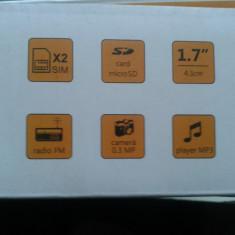 Telefon mobil nou, Freeman, dual sim, liber de retea, garantie 2 ani! - Telefon mobil Dual SIM E-boda, Negru, <1GB, Neblocat, Single core, Nu se aplica