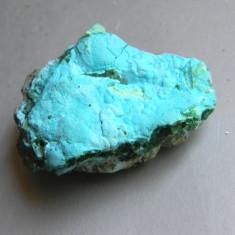 Specimen minerale - CHRYSOCOLA CU MALACHIT (C1) - Fosila roca
