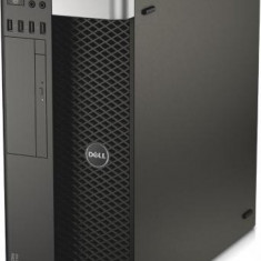 Workstation DELL Precision T5610 Tower, Intel Quad Core Xeon E5-2637 v2 3.5 GHz, 16 GB DDR3 ECC, 4 TB HDD SATA NOU, DVD, ATI FirePro W5000, Windows